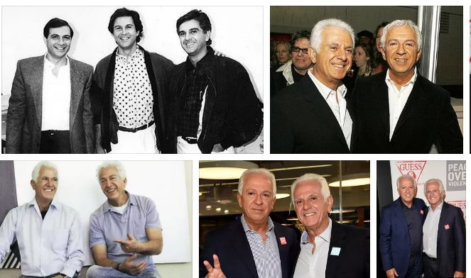 Братья Марчиано - основатели бренда Guess